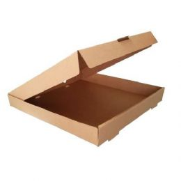 BROWN Plain Pizza Boxes